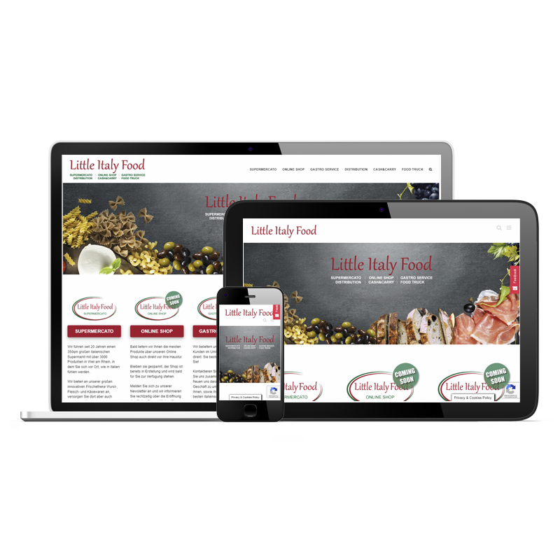 Little Italy Food - Onlineshop Devices